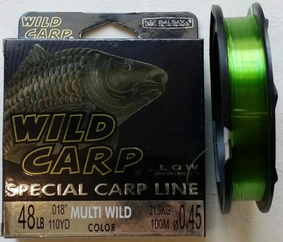 Леска Wild Carp 100m 0,20