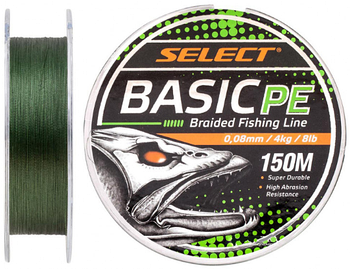 Шнур SELECT BASIC PE 150m темно-зеленый