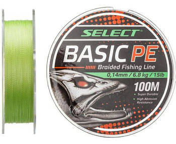 Шнур SELECT BASIC PE 100m темно-зеленый