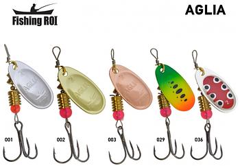 Блесна Fishing Roi Aglia 12g
