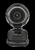 Веб-камера Trust Exis, Black, 0.3 Mp, 640x480, USB 2.0, встроенный микрофон (17003), фото 2