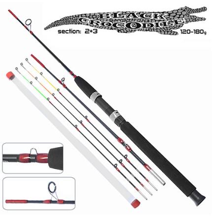 Спиннинг штекерный Black Crocodile Evolution 2,7м 180г 2+3к