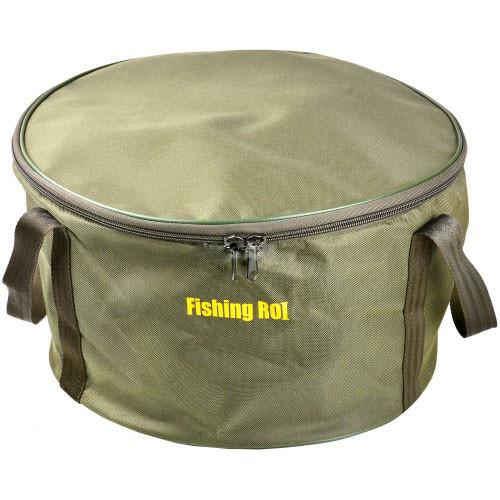 Відро Fishing Roi з кришкою м'яке для замісу