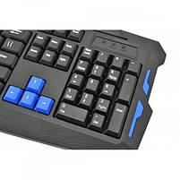 Комплект : игровая русская беспроводная клавиатура и мышь AirBot, фото 3