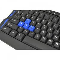 Комплект : игровая русская беспроводная клавиатура и мышь AirBot, фото 6