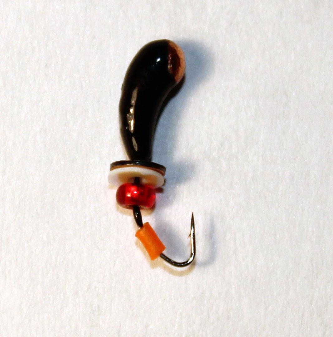 Мормишка Stream w2925 уралка з отв.коронкою і паєтками