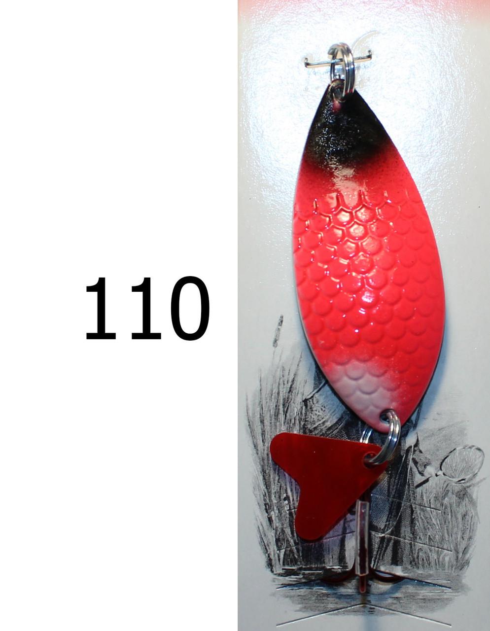 Блешня SPINNEX колебалка 1 пелюстка кольорова