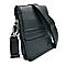 Мужская кожаная сумка H.T.Leather Черный (5416-6), фото 4