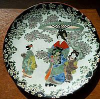 Японское блюдо фарфор Нач.ХХ века
