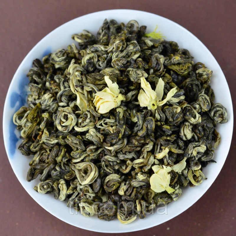 Зеленый чай с жасмином Bi Luo Chun jasmine