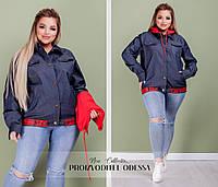 Куртка 2778( бомбер) с капюшоном 48-58