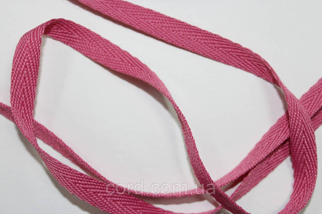 Тесьма Киперная 10мм 50м розовый