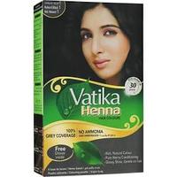 Краска на основе хны Dabur Vatika Henna Hair Colours 1.0 -черный