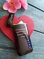 """Зажигалка аккумуляторная электроимпульсная перезаряжаемая портативная USB """"Шкала"""" качественная!, фото 2"""