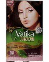 Краска на основе хны Dabur Vatika Henna Hair Colours 4.0 - коричневый