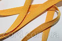 Тесьма Киперная 10мм 50м желтый