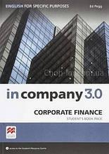 In Company 3.0 ESP Corporate Finance Student's Book Pack / Учебник