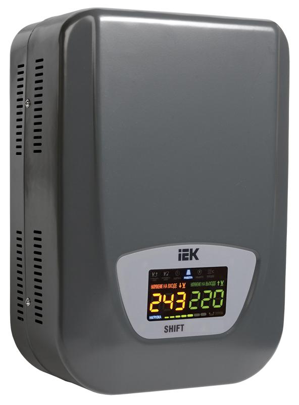 Стабилизатор напряжения Shift  8 кВА электро-механический настенный IEK (IVS12-1-08000)