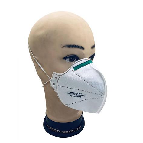 Респиратор маска МИКРОН FFP-1 N85, фото 2