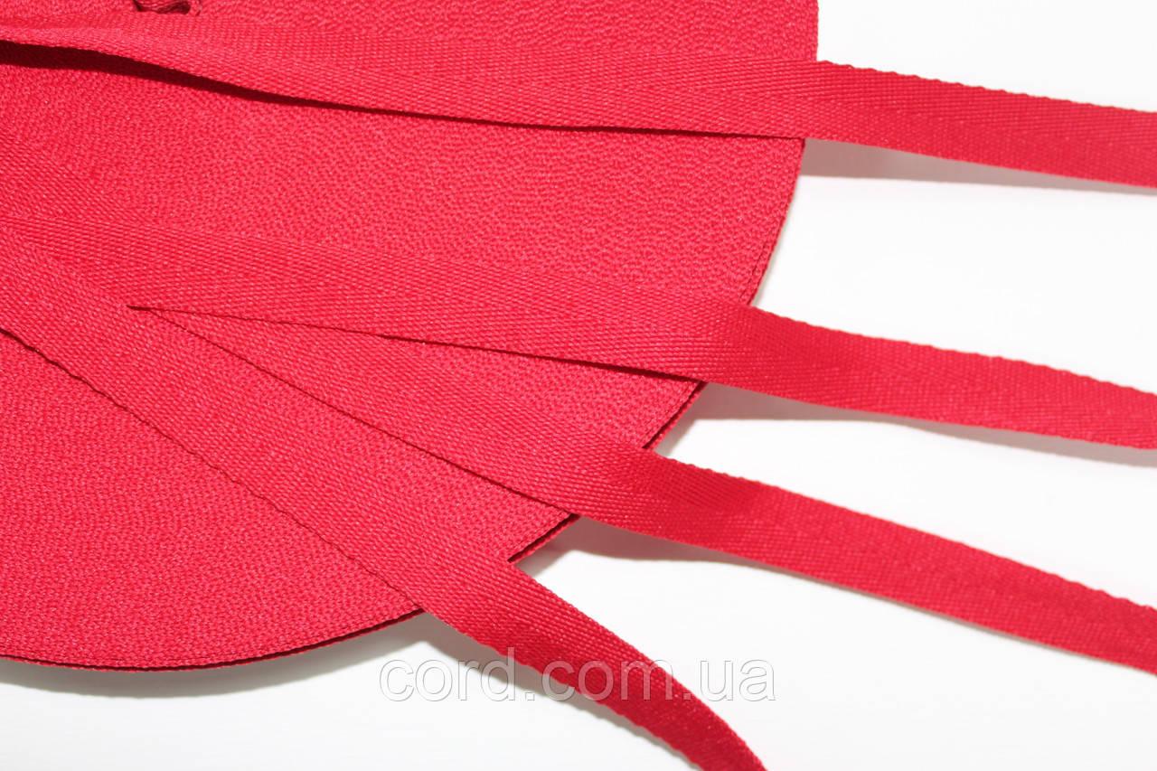 Тесьма Киперная 15мм 50м красный