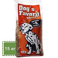 Сухой корм для собак Happy Dog Favorit Brocken | повседневный корм для собак | 15 кг