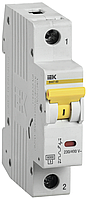 Автоматический выключатель ВА 47-60 1Р 25А 6 кА  х-ка B IEK (MVA41-1-025-B)