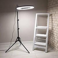 Набор блогера 2 в 1, штатив 1.6м + кольцевая лампа 30 см LED Light лампа для селфи SL-300 с