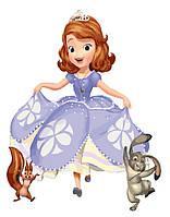 Картина по номерам Друзья принцессы GX5489 Brushme 40х50 см