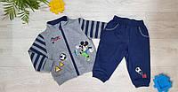 Трикотажный костюм 2 в 1 для мальчика, Disney, 6,9/12,23 мес.,  № 81564