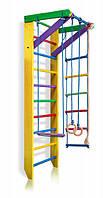Детский деревянный спортивный комплекс для дома SportBaby Разноцветный (Юнга 2-240)