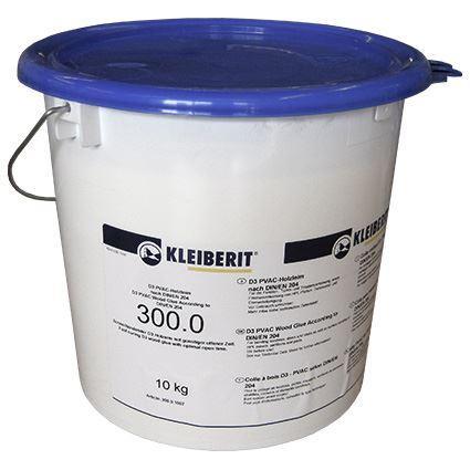 Клей ПВА Д3 Клейберит 300.0 (10кг) Водостойкий столярный Kleiberit D3