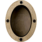 Деревянная мусорничка-шкатулка для обрезков нитей FLZB(N)-015, фото 3