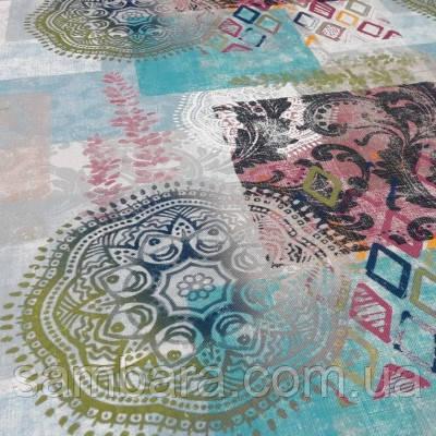 Мебельная ткань принт Непал 6390 (Турция)