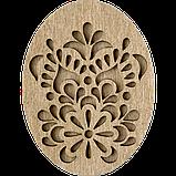 Деревянная мусорничка-шкатулка для обрезков нитей FLZB(N)-013, фото 2