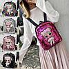 Детский рюкзак с куклой Лол с пайетками, фото 2