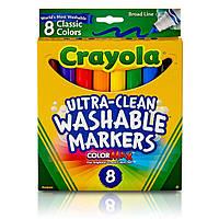 Моющиеся маркеры Crayola Ultra-Clean, 8 шт