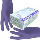 Перчатки НИТРИЛОВЫЕ (цвета в ассортименте) нестерильные неопудренные (1 пара), размер М, фото 2