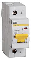 Автоматический выключатель ВА 47-100 1Р  10А 10 кА  х-ка C IEK (MVA40-1-010-C)