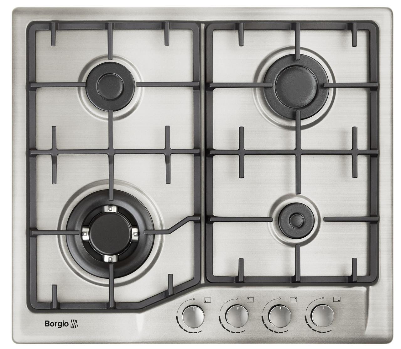 Варочная поверхность газовая BORGIO 6742-17 (Inox)