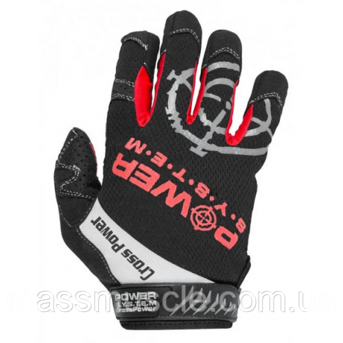Power System перчатки для кроссфита PS-2860 Black/Red