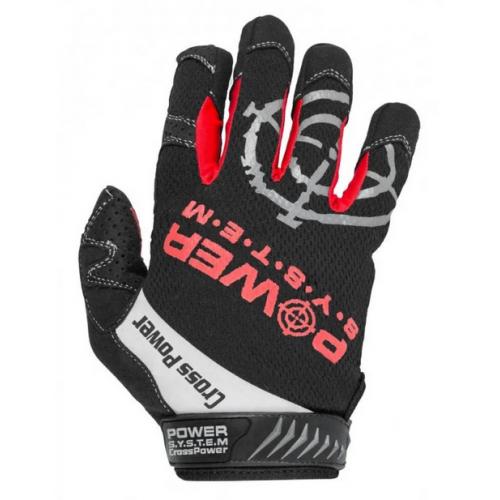 Power System рукавички для кроссфита PS-2860 Black/Red
