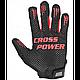 Power System рукавички для кроссфита PS-2860 Black/Red, фото 2