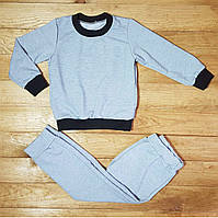 Костюм детский 2-х нитка, цвет: серый, фото 1