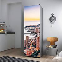"""Виниловая наклейка на холодильник.""""Монте Карло"""""""", фото 1"""