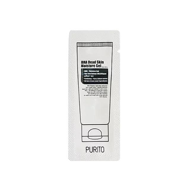 Пробник зволожуючий нічний гель з кислотами Purito BHA Dead Skin Moisture Gel 1 ml