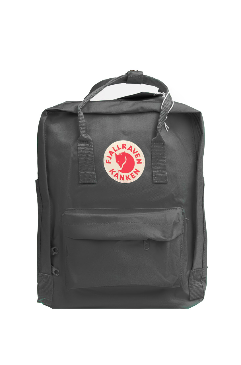 Рюкзак Fjallraven Kanken Classic 16 л, темно-серый