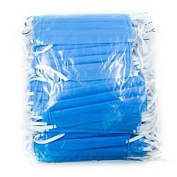 Маска для лица (трехслойная) 100 шт/упаковка