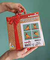 Yoga Dog. Картина по номерам на холсте - 18x18, 4шт. С подрамником. Идейка