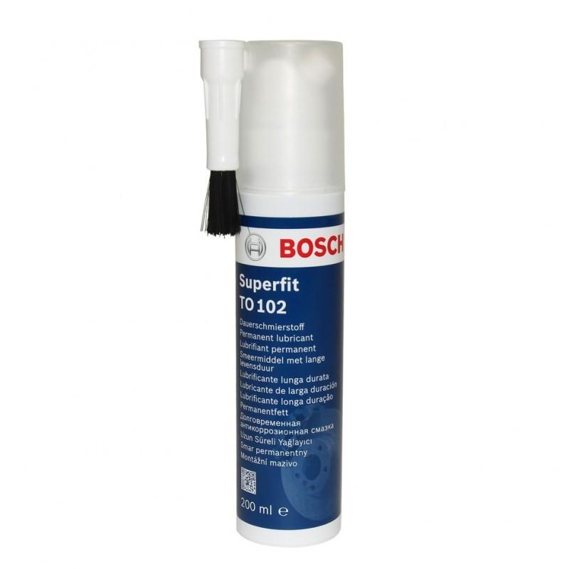 Мастило для гальмівної системи Bosch Superfit TO102 з пензликом 200мл. 5 000 000 376