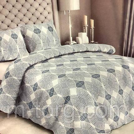 Комплект постельного белья полуторный 150/210 см, нав-ки 70/70, ткань сатин, 100% состоит из хлопка, фото 2